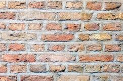 Parede de tijolo, teste padrão do papel de parede, textura do fundo fotos de stock royalty free