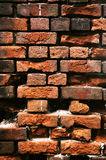 Parede de tijolo velha. Fotografia de Stock Royalty Free