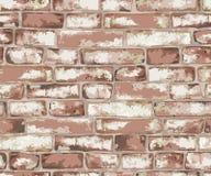 Parede de tijolo velha Imagens de Stock