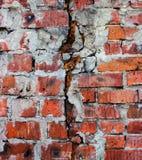 Parede de tijolo velha Foto de Stock