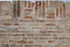 Parede de tijolo velha Imagem de Stock