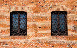 Parede de tijolo velha Fotografia de Stock Royalty Free