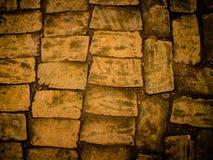 Parede de tijolo velha da fortaleza Fotografia de Stock