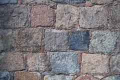 Parede de tijolo velha do relevo Textura Imagens de Stock
