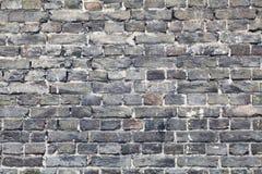 Parede de tijolo velha em uma imagem de fundo Imagens de Stock
