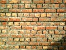 Parede de tijolo velha para a textura ou o fundo fotos de stock royalty free