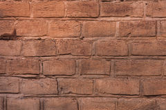 Parede de tijolo velha, textura, fundo. Imagem de Stock Royalty Free