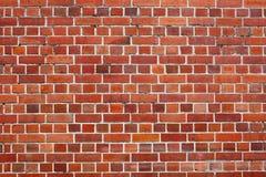 Parede de tijolo vermelho Fotografia de Stock