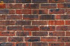 Parede de tijolo vermelho. Imagens de Stock Royalty Free