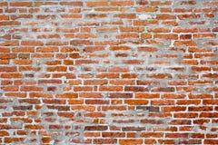 Parede de tijolo vermelho Fotografia de Stock Royalty Free