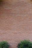 Parede de tijolo vermelho Foto de Stock