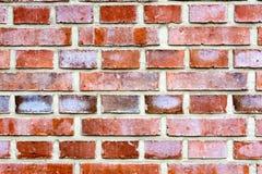Parede de tijolo vermelho 1 foto de stock