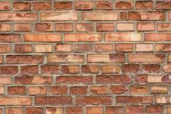 Parede de tijolo vermelho 9 Imagem de Stock