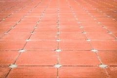 Parede de tijolo vermelho como a agradavelmente Foto de Stock