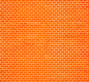 Parede de tijolo vermelho decorativa Imagem de Stock Royalty Free