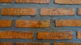 Parede de tijolo vermelho do fundo foto de stock