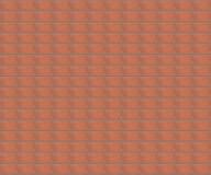 Parede de tijolo vermelho do teste padrão Imagens de Stock Royalty Free