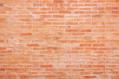 Parede de tijolo vermelho para o fundo foto de stock royalty free