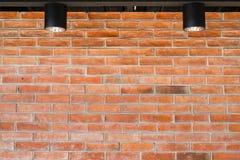 Parede de tijolo vermelho para a textura foto de stock royalty free