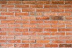 Parede de tijolo vermelho para a textura imagem de stock