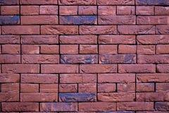 Parede de tijolo vermelho Textura Fundo fotografia de stock royalty free