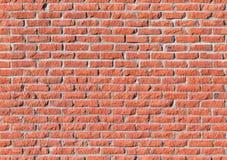 Parede de tijolo vermelho, textura sem emenda imagens de stock