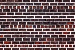 A parede de tijolo vermelho velha fotografia de stock royalty free
