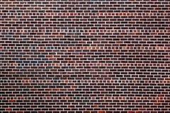 A parede de tijolo vermelho velha fotografia de stock