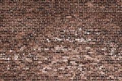 A parede de tijolo vermelho velha imagens de stock