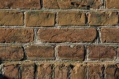 Parede de tijolo vermelho velha Fotos de Stock Royalty Free