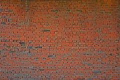 Parede de tijolo vermelho velha Foto de Stock