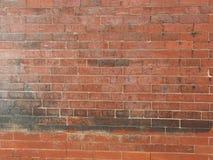 Parede de tijolo vermelho velha Imagem de Stock Royalty Free