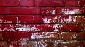 Parede de tijolo vermelho velha Foto de Stock Royalty Free