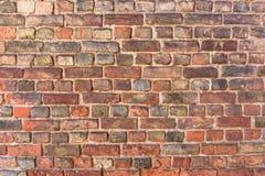Parede de tijolo vermelho velha Fotografia de Stock Royalty Free