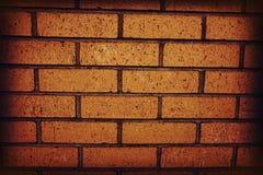 Parede de tijolo vermelho velha como um fundo, teste padrão Fotografia de Stock