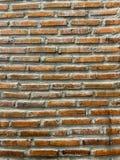 Parede de tijolo, vintage, retro, misturador de cimento, áspero fotos de stock royalty free