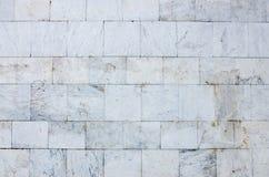 Parede de tijolos branca Fotografia de Stock