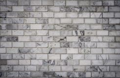 Parede de tijolos branca, fundo Fotografia de Stock Royalty Free