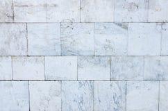 Parede de tijolos branca, fundo do grunge Foto de Stock Royalty Free