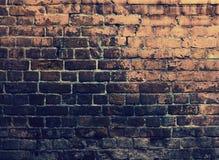Parede de tijolos de Grunge imagens de stock