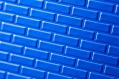 Parede de tijolos metálicos Imagem de Stock Royalty Free