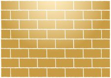 Parede de tijolos tan abstrata Imagens de Stock Royalty Free