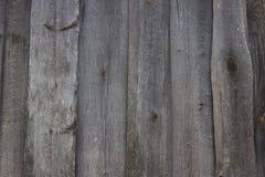 A parede de um celeiro velho Foto de Stock Royalty Free