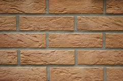 Parede de um tijolo Fotos de Stock Royalty Free
