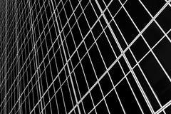 Parede de vidro Imagem de Stock