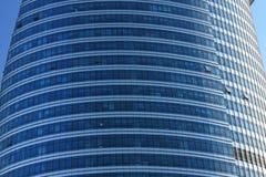 Parede de vidro da tela Imagem de Stock Royalty Free