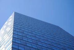 Parede de vidro do centro de negócios Fotografia de Stock Royalty Free