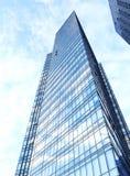 Parede de vidro do prédio de escritórios Imagem de Stock Royalty Free