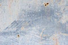 Parede desigualmente colorida Pinte manchas na textura da parede Fundo abstrato cinzento Imagens de Stock Royalty Free