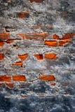 Parede destruída velha Foto de Stock